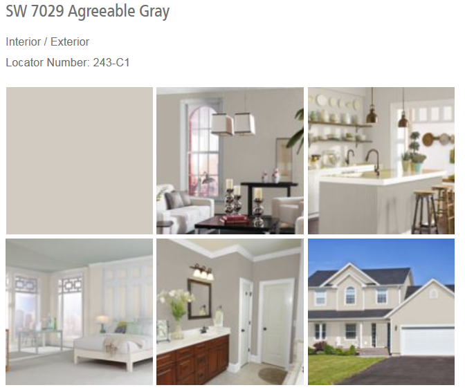 Agreeable Gray SW 7029
