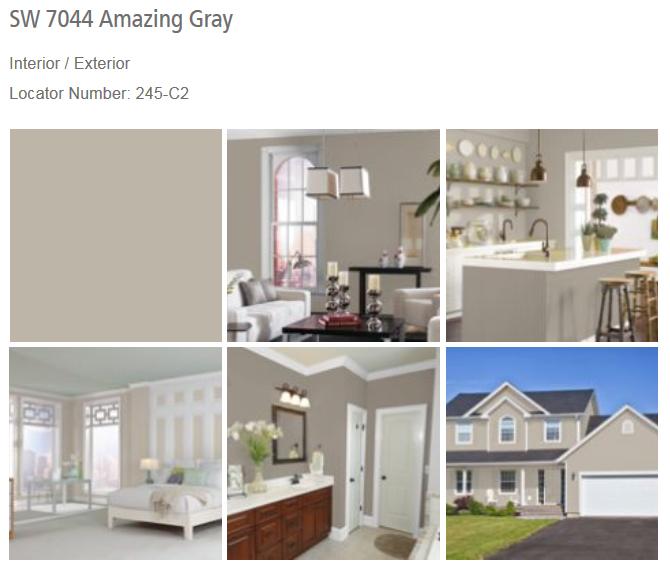 Amazing Gray SW 7044